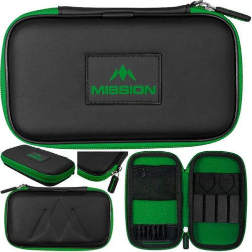 Mission Freedom Wallet Zwart Groen