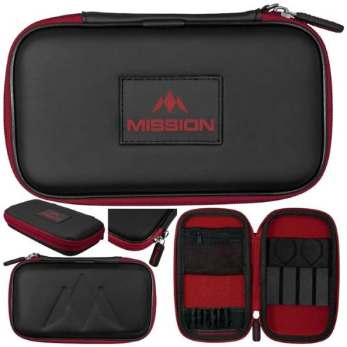 Mission Freedom Wallet Zwart Rood