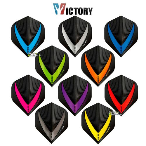 Victory Vista Black Dart Flights
